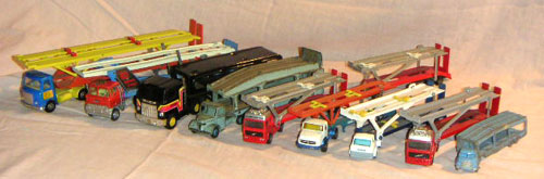 Car Transporters, not all Dinky