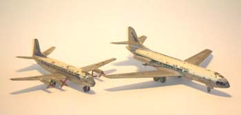 Air France Viscount & Caravelle