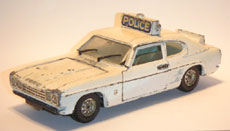 Ford Capri Police Car (Large Scale)